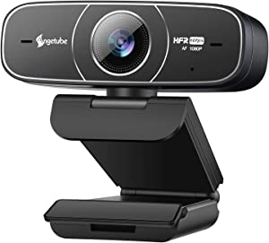 Webcam HD 1080P 60FPS with Microphone for Business- Angetube USB PC Web Computer Camera Autofocus Plug&Play Face Cam for Video Call|Streaming|Gaming|Laptop|Desktop|Zoom|Xbox|Twitch