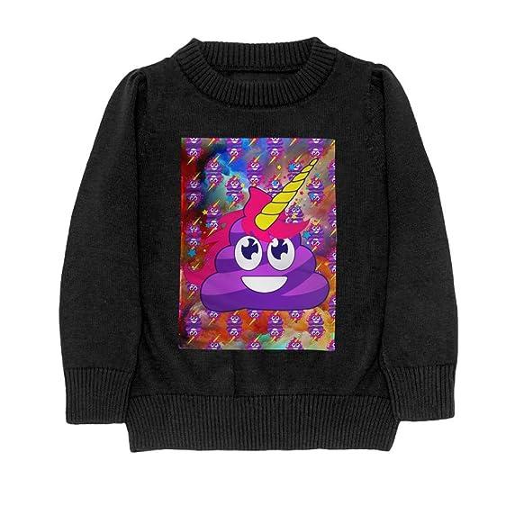 569b0e7980ab Amazon.com  Galaxy Poop Teen Long Sleeve Sweater Crewneck Color ...