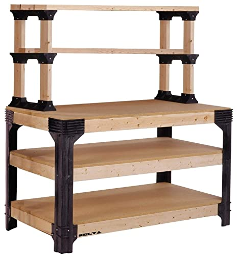 Stupendous Selva Diy Bench Customize Workbench Table Kit Wooden Machost Co Dining Chair Design Ideas Machostcouk