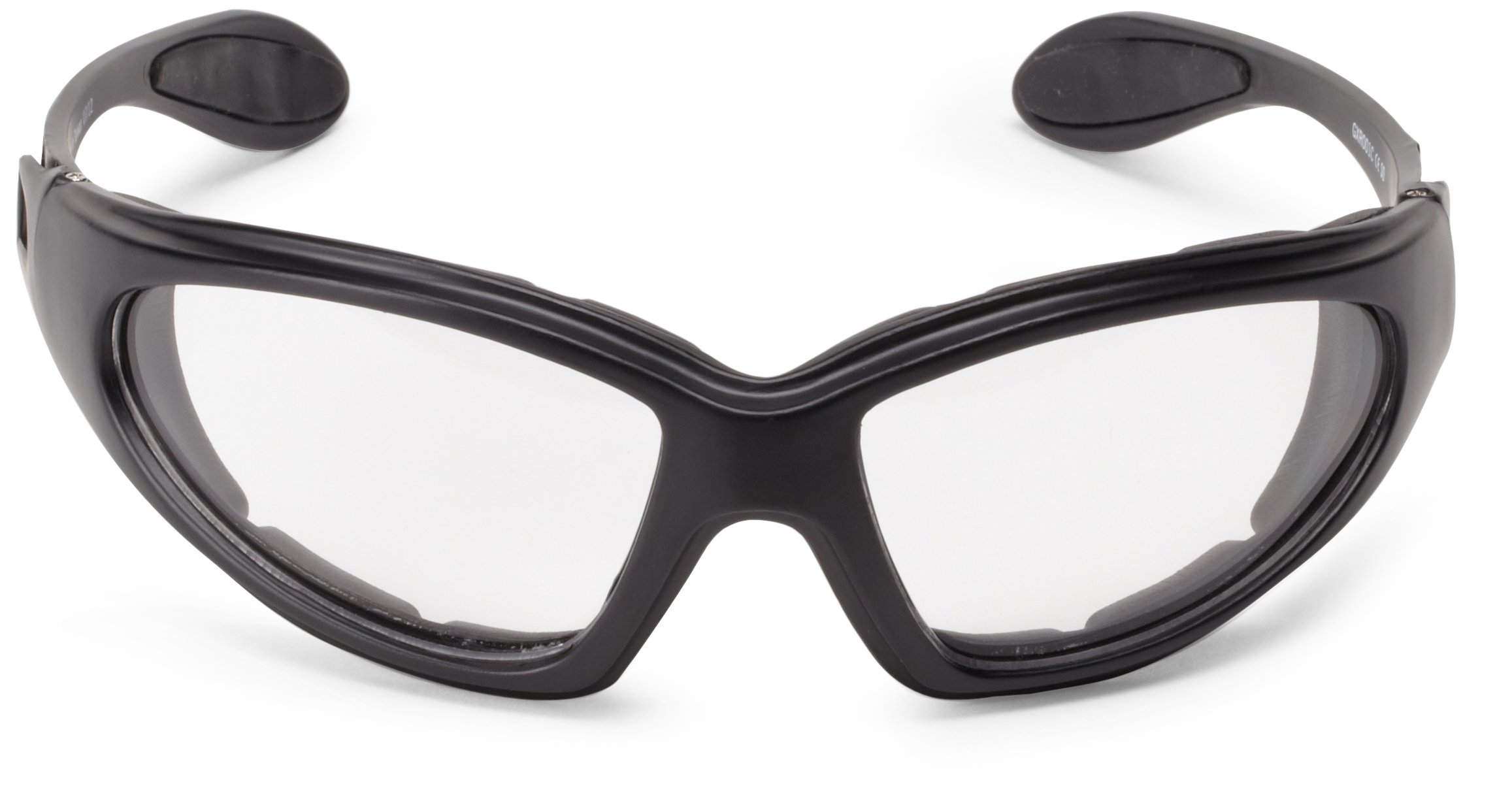 Bobster GXR Sport Sunglasses,Black Frame/Clear Lens,one size by Bobster (Image #3)