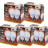 アイリスオーヤマ LED電球 E26 広配光タイプ 30W形相当 電球色 2個×5セット LDA3L-G-3T42P