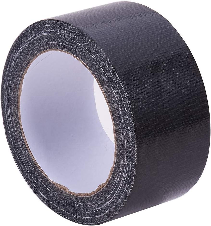 Black GORGECRAFT 2 Inch x 21 Yard Bookbinding Tape Cloth Book Repair Tape Safe Cloth Library Book Hinging Repair Craft Tape Acid Free for Bookbinders Hinging Sofa Cord Cable