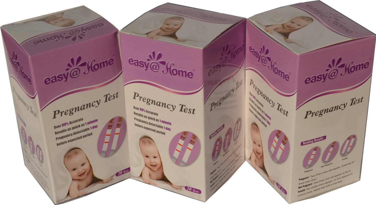 1000 Easy@Home Home HCG Pregnancy Test Strips by Easy@Home (Image #5)