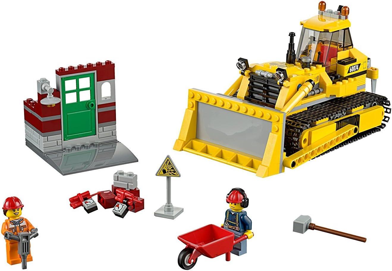 LEGO - Bulldozer, Multicolor (60074)