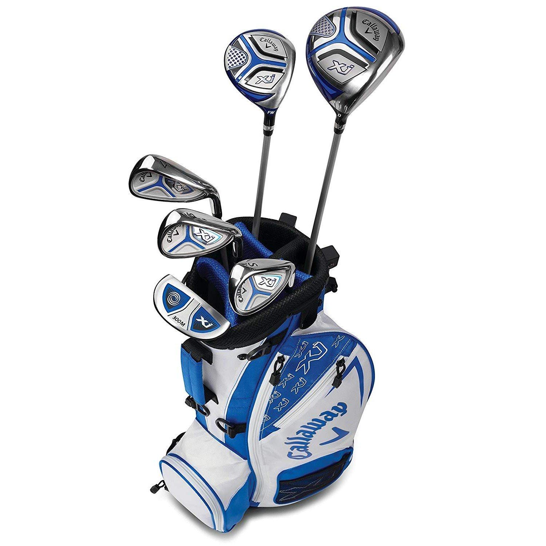 Callaway XJ Junior Golf Set Level 2 RH White [並行輸入品] B07FS73YPD