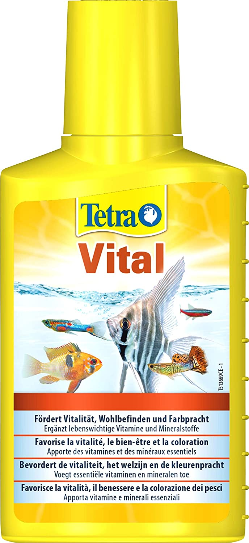 Tetra 736337 -, cuidado del agua vitales para la promoción de la vitalidad, bueno sentir y farbenpracht de peces ornamentales, agrega vitaminas y nutrientes ...