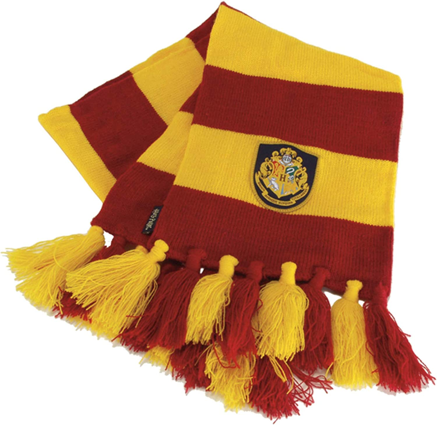 Warner Brothers Harry Potter Hogwart Gryffindor House Knit Scarf for Adults and Kids Red: Clothing