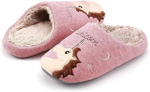 Kqpoinw Zapatillas Estar por Casa Mujer, Cómodas y Cálidas Zapatillas Casa Mujer Zapatillas de Estar por Casa Antideslizantes Zapatillas Unicornio para Mujeres, Hombre y Niño (31/32 EU, Rosa(Niño)): Amazon.es: Zapatos y complementos