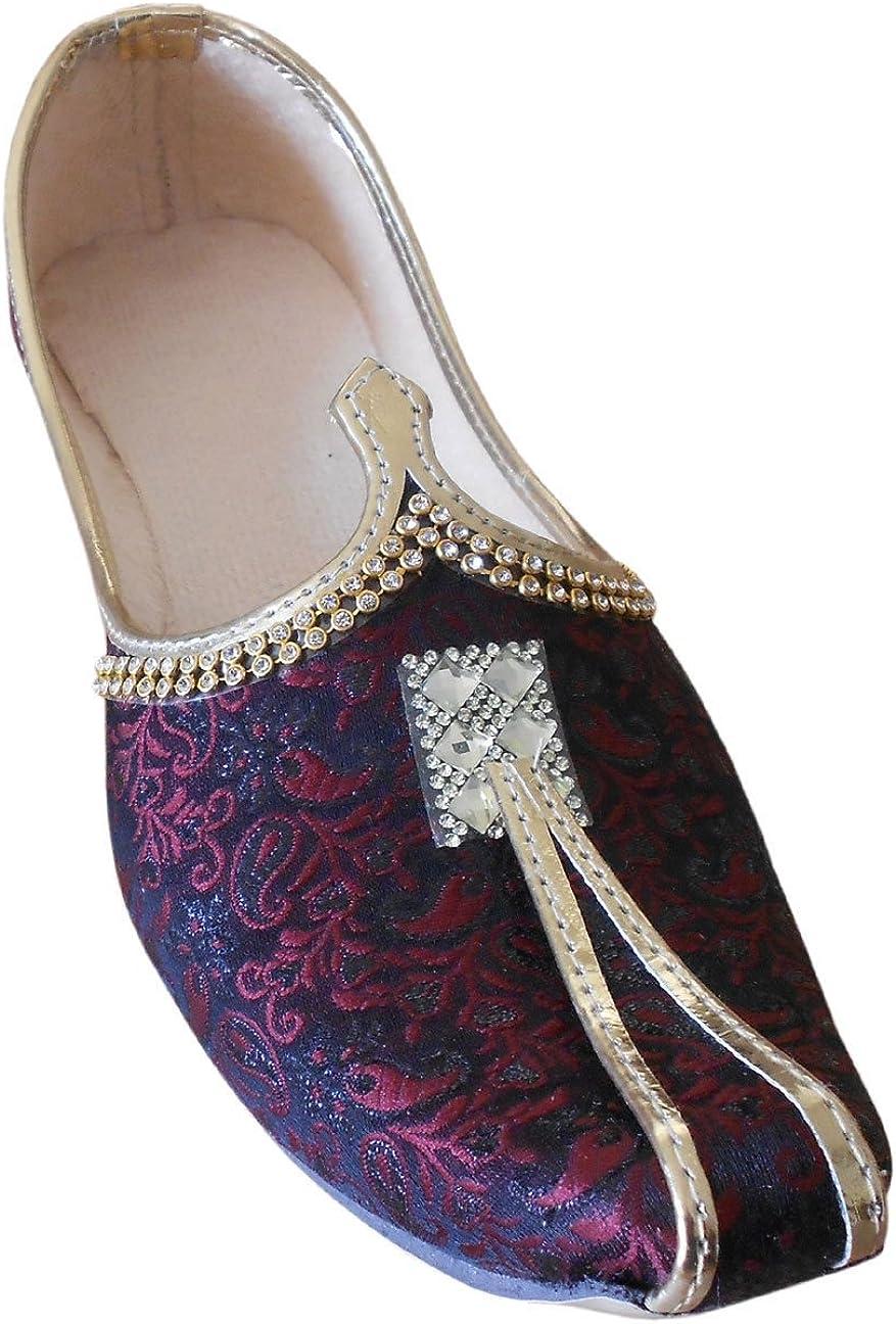 Kalra Creations Men Shoes Indian Handmade Wedding Khussa Flip-Flops Punjabi Jutties