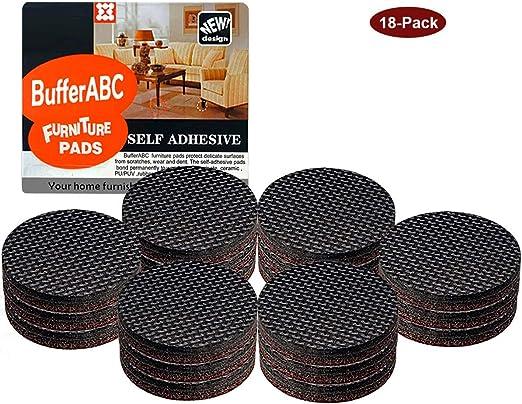 Non Slip Furniture Pads 18pcs 2 Self Adhesive Thick Furniture