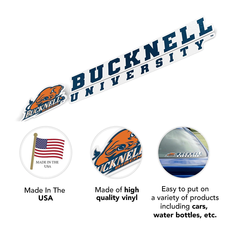 Bucknell University Bison NCAA Name Logo Vinyl Decal Laptop Water Bottle Car Scrapbook 8 Inch Sticker