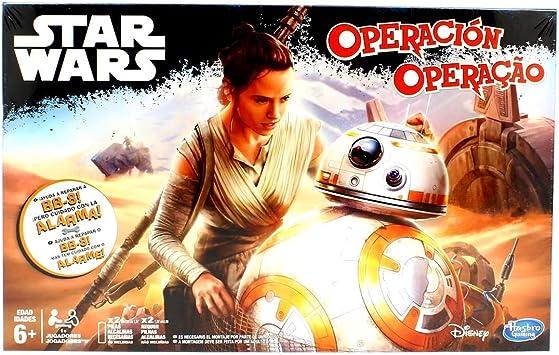 Star Wars - Juego de Habilidad Operación (Hasbro): Amazon.es ...