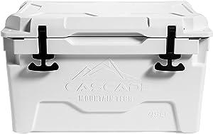 Cascade Mountain Tech Heavy-Duty 45-Quart Cooler Built-in Bottle Opener for Camping