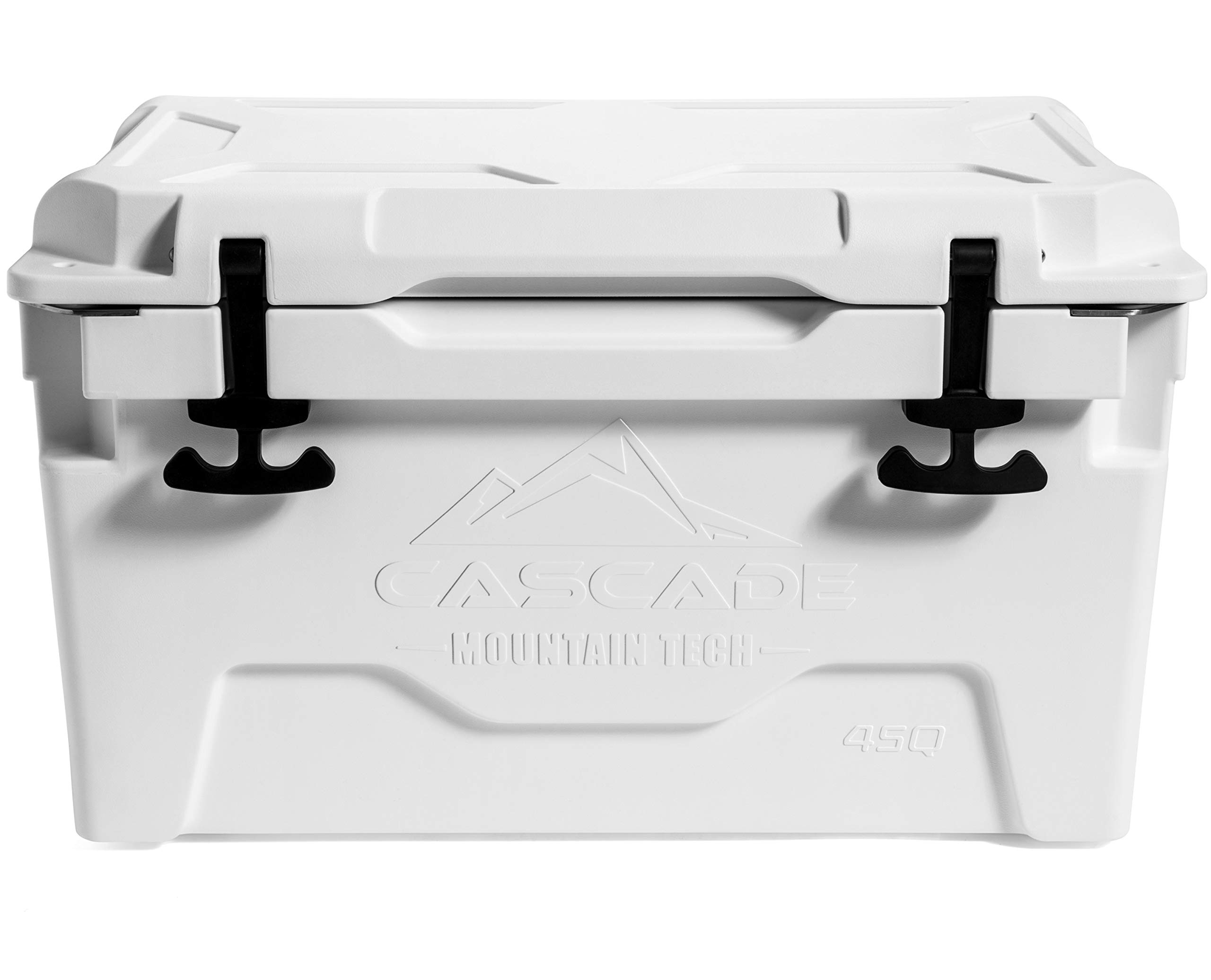 Cascade Mountain Tech Heavy- Duty Cooler Built-in Bottle Opener for Camping, BBQs, Tailgating & Outdoor Activities by Cascade Mountain Tech