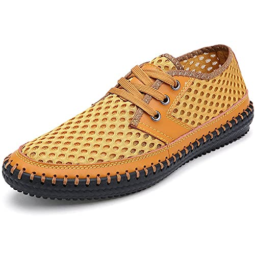 Jamron Hombres Ligero Cordón Verano Respirable Malla Zapatillas de Deporte: Amazon.es: Zapatos y complementos