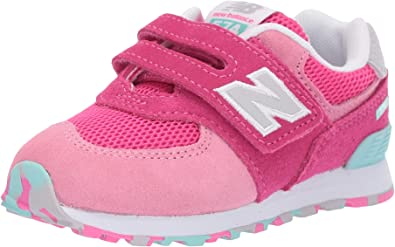 best loved cheap prices best prices New Balance 574, Baskets Mixte Enfant, Rose Peony Glo Ujb, 32.5 EU ...
