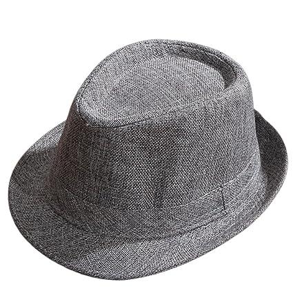 Kentop Jazz Cappello Uomo e Donna Paglia Cappello Panama Borsalino –  Cappello da Sole 29773bd6605d
