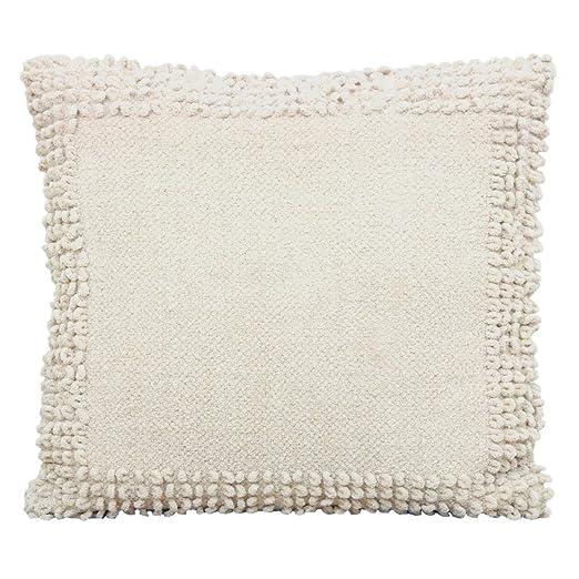 Soma - Cojín Decorativo de Chenilla de algodón, con Relleno ...