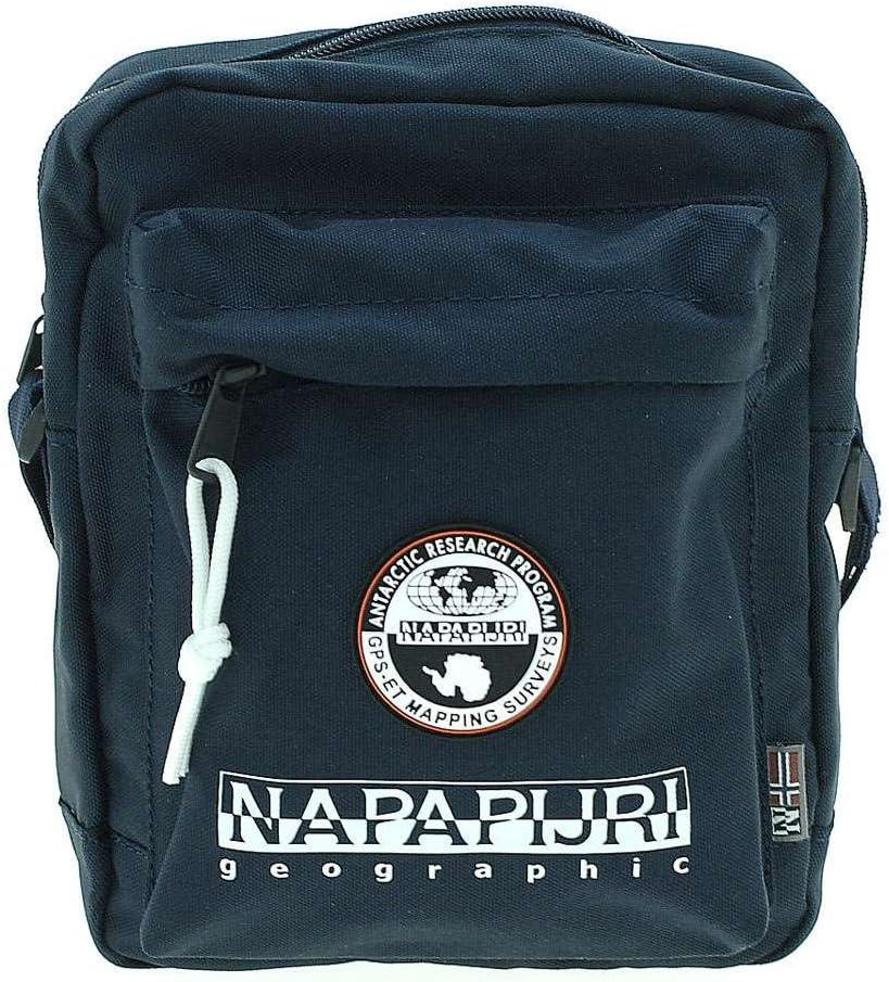 Napapijri Bags Bolso Bandolera, 22 cm, 4 Liters, Azul (BLU Marine): Amazon.es: Equipaje