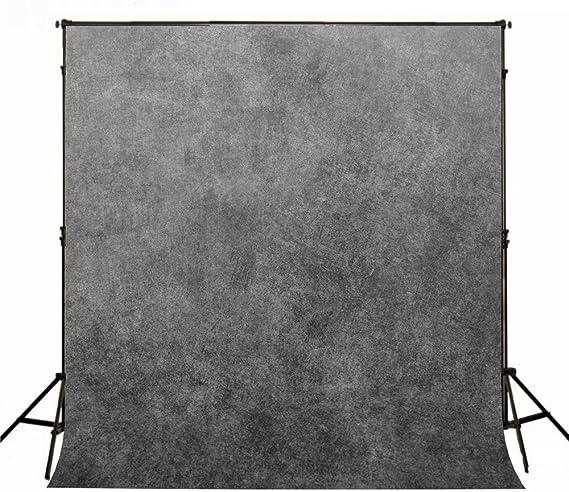 Katehome Photostudios 2x3m Grau Porträt Fotohintergrund Kamera