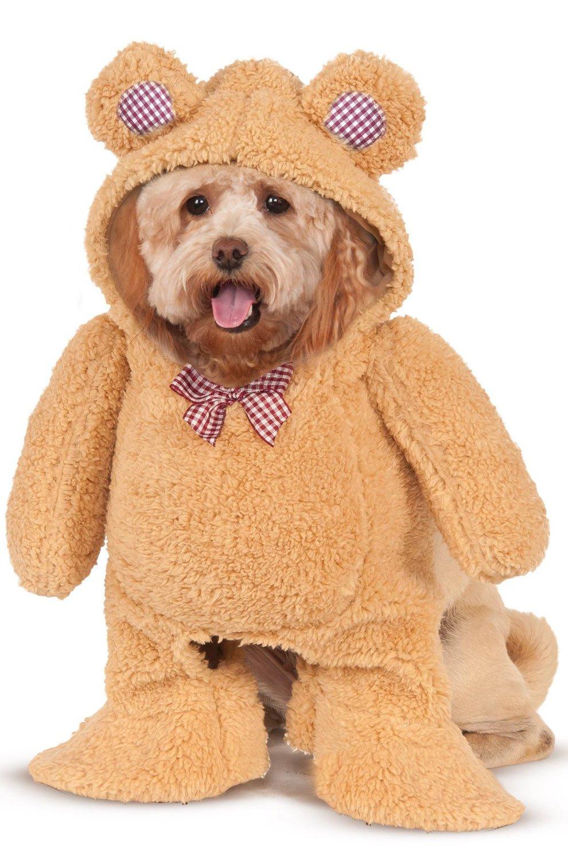 Walking Teddy Bear Dog Costume Small