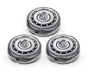 Yama SH90/62 Replacement Heads for Philips Norelco Series 9000 Shavers (Pack of 3)