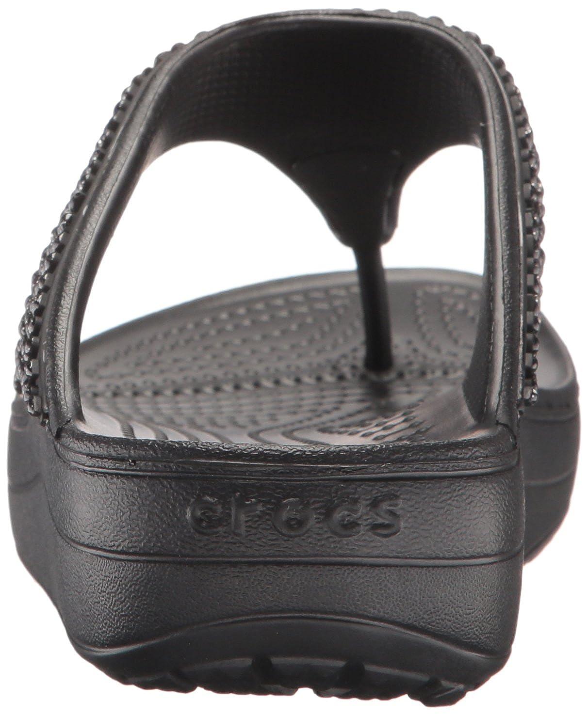 33d80ce4fe5c Crocs Women s Sloane Embellished Flip Flop  Crocs  Amazon.ca  Shoes    Handbags