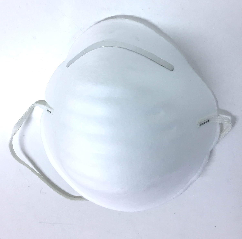 Gahibre MP300 Mascarillas desechables 5 unidades, Blanco, unisex