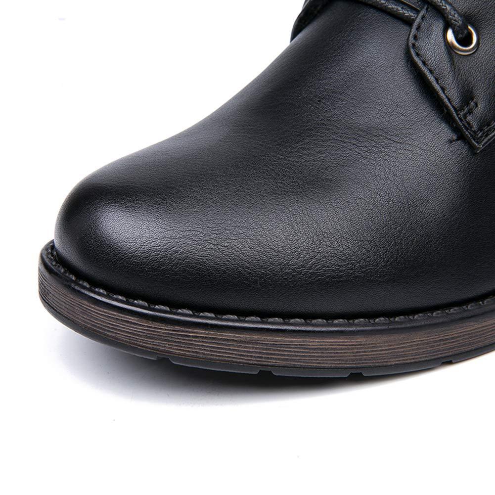 JRenok Damenstiefel runden Zehenspitze bis hohe Fersen warme Pelz-Plüsch-Einlage Klassische Klassische Klassische warme Schuhe Reißpumpen 057a81