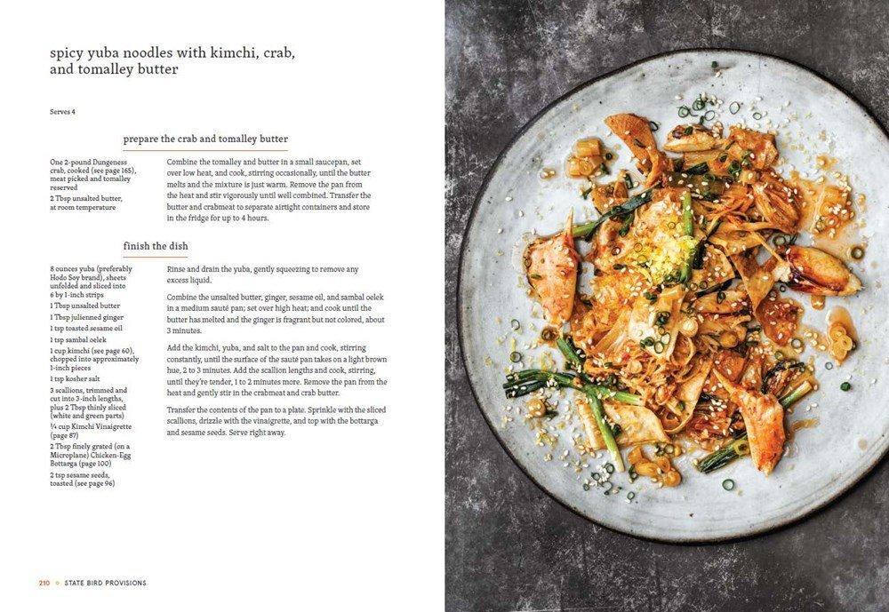 State bird provisions a cookbook stuart brioza nicole krasinski state bird provisions a cookbook stuart brioza nicole krasinski jj goode 9781607748441 amazon books forumfinder Choice Image