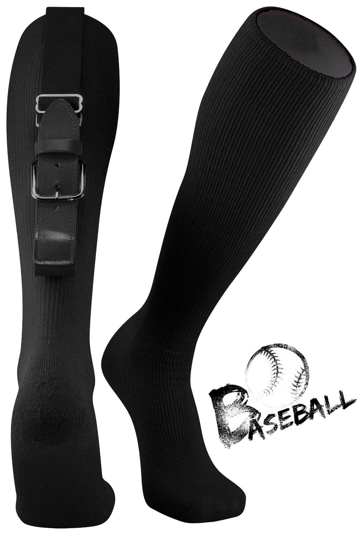 野球ソフトボールベルトソックスコンボセットソフトボールソックス野球ベルトコンボセットユース用と大人用 B07BCD8WZD Youth ブラック ブラック Youth