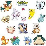Giant Wall Decals for Kids Rooms, Nursery, Baby, Boys & Girls Bedroom Peel Stick, Large Removable Vinyl Wall Stickers. Pokemon cards