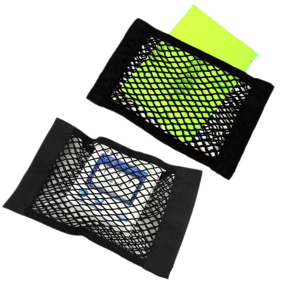 Auto Sedile Posteriore Posteriore Tronco Pocket Cage Elastica String Net Mesh Storage Bag CoralStore Rete portaoggetti per Sedile Auto