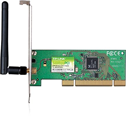 TP-LINK 54Mbps Wireless PCI Adapter - Accesorio de Red ...