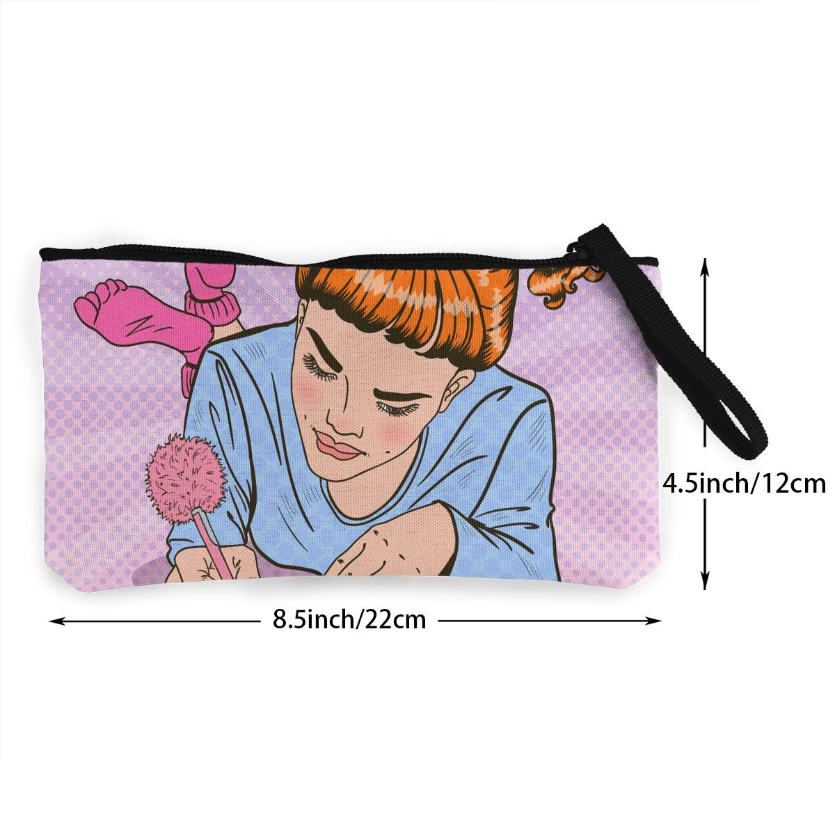 Yamini A Girl in Pink Socks Who Keeps A Diary Cute Looking Coin Purse Small and Exquisite Going Out to Carry Purse