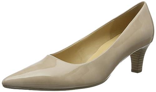 Gabor Shoes Gabor Fashion, Zapatos de Tacón para Mujer, Beige (Sand), 35 EU