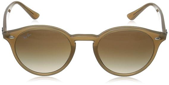 1bb0863747340 Óculos de Sol Round Stylish Ray Ban RB2180 Nude Translúcido Lente Tam 49   Amazon.com.br  Amazon Moda