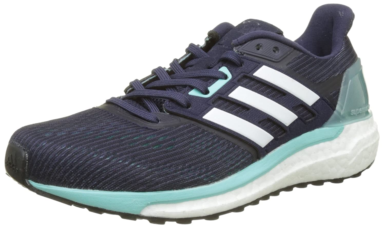 Adidas Supernova Glide 9 Zapatillas de Running para Mujer 40 EU|Multicolor (Noble Ink /Ftwr White/Energy Aqua )