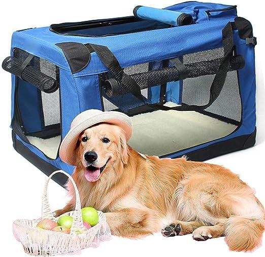 AYWJ Transportin para Perros Plegable Bolsa de Transporte Gatos ...