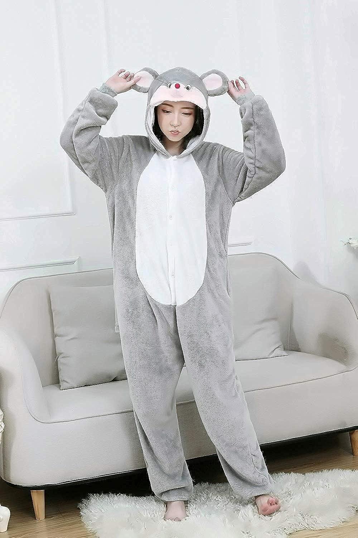 Lazutom Unisex Adult Animal Cosplay Costume Pyjamas Onesie Sleepwear