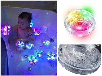 Baby Bath Bathtub Toys Bath LED Lights Up Bath Toys Bathroom Tub Led Toys  For Kids