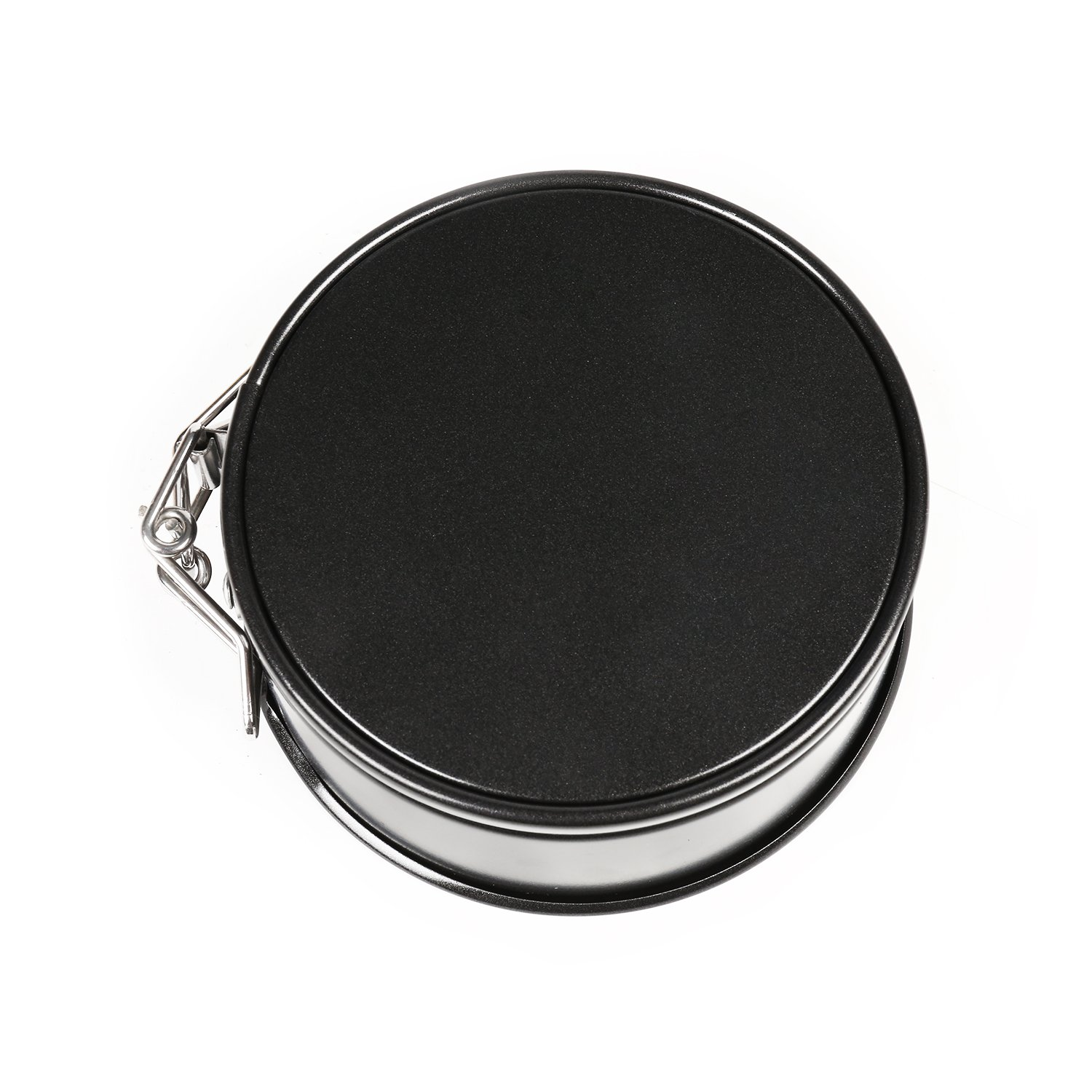AFYHA 4 Inch Mini Non-stick Springform Pans Set 4 Piece Small Round Leakproof Cheesecake Pans with Removable Bottom for Mini Cheesecakes Pizzas and Quiches CFL-ZL126