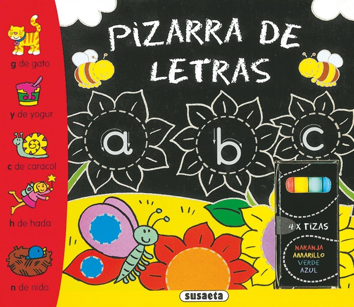 Pizarra de letras (Pizarra y tizas): 9788430559671: Amazon ...