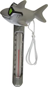 HydroTools by Swimline Soft Top Cool Shark Pool Thermometer and Cord