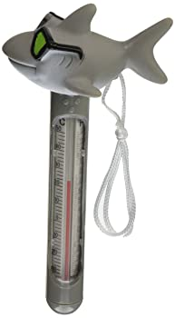 Hydrotools by Swimline Soft Top Shark Pool Thermometer