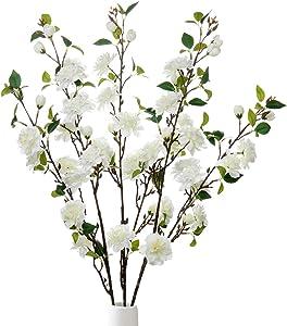 Artificial Flower Apple Blossom Stem 35