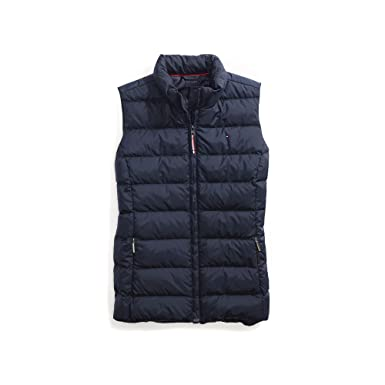 f06409874b2d5 Tommy Hilfiger Women s Adaptive Puffer Vest with Magnetic Zipper at Amazon  Women s Coats Shop