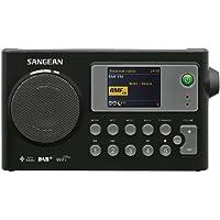 Sangean WFR-27C Internet Radio, FM-RDS, DAB+ Network Music Player Digital Receiver