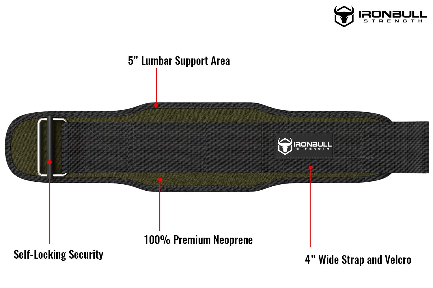 5 Inch Self-Locking Weightlifting Back Support Weight Lifting Belt for Cross Training Workout Back Support for Lifting Fitness and Powerlifitng Men and Women