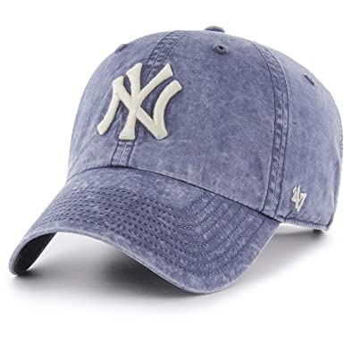 47_brand Gorra MLB New York Yankees Clean Up Adjustable Azul ...